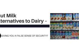 Nut Milk Alternatives to Dairy Giving You a False Sense of Security?